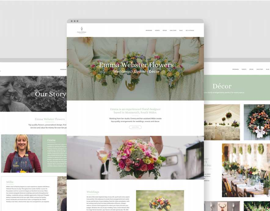 A Website Fit for a Florist
