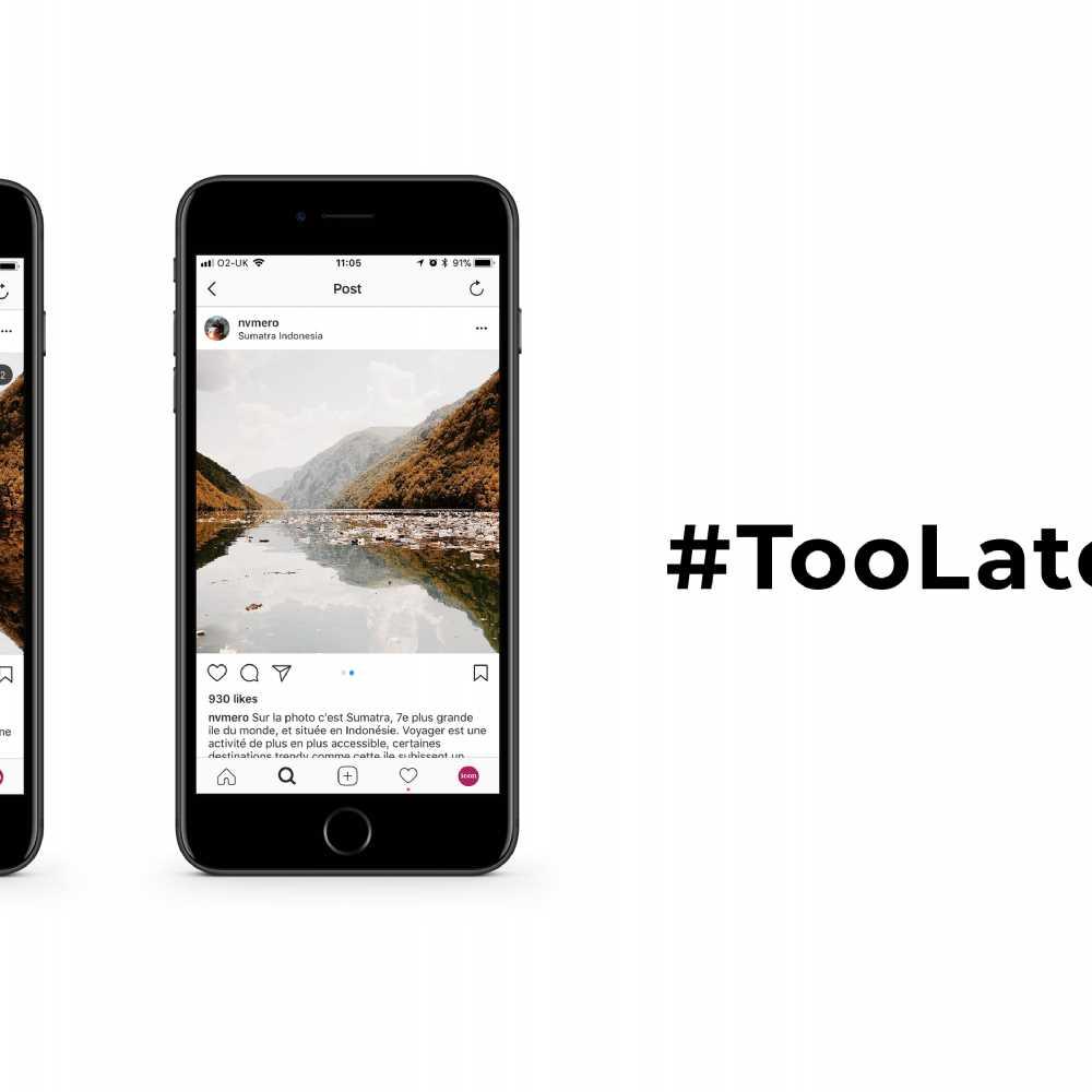 WWF's #TooLaterGram Campaign   Blog   Icon Creative Design